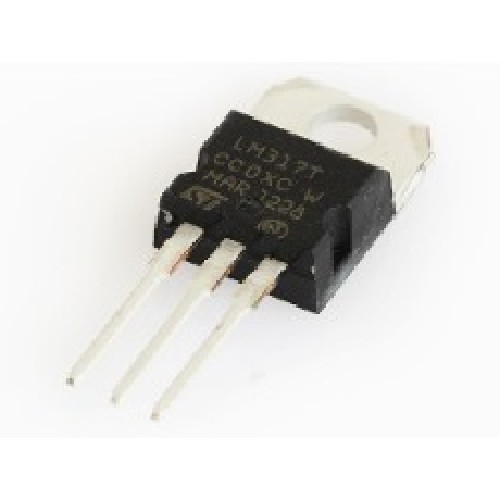 CIRCUITO INTEGRADO LM317TST ORIGINAL REGULADOR DE TENSION AJUSTABLE