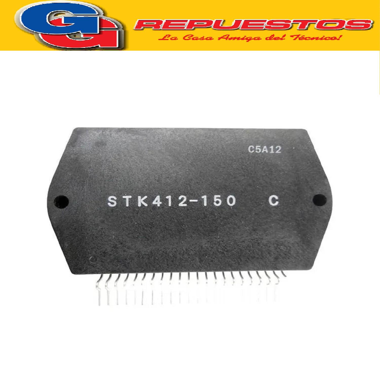 STK412-150C CIRCUITOS INTEGRADO Dual power audio amplifier 2x150W