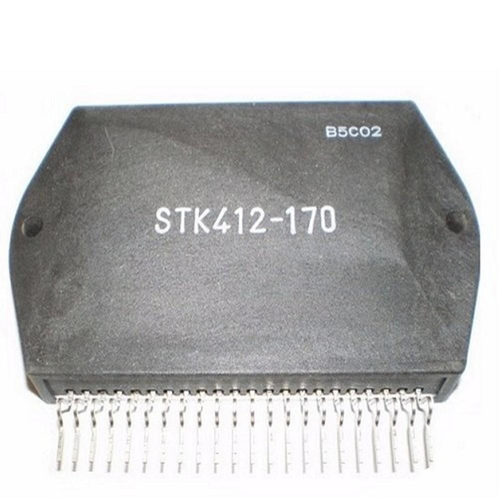STK412-170SYO CIRCUITO INTEGRADO AMPLIFICADOR DE AUDIO ESTEREO 2x180W ORIGINAL