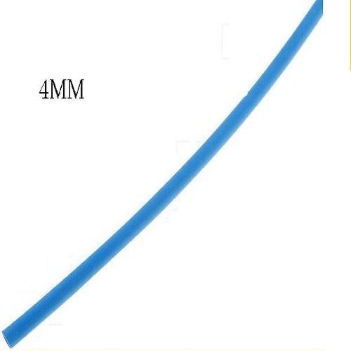 TERMOCONTRAIBLE Ø-4MM AZUL X METRO