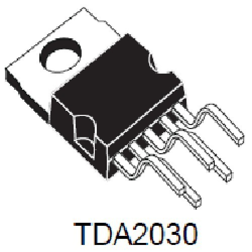 TDA2030A CIRCUITO INTEGRADO