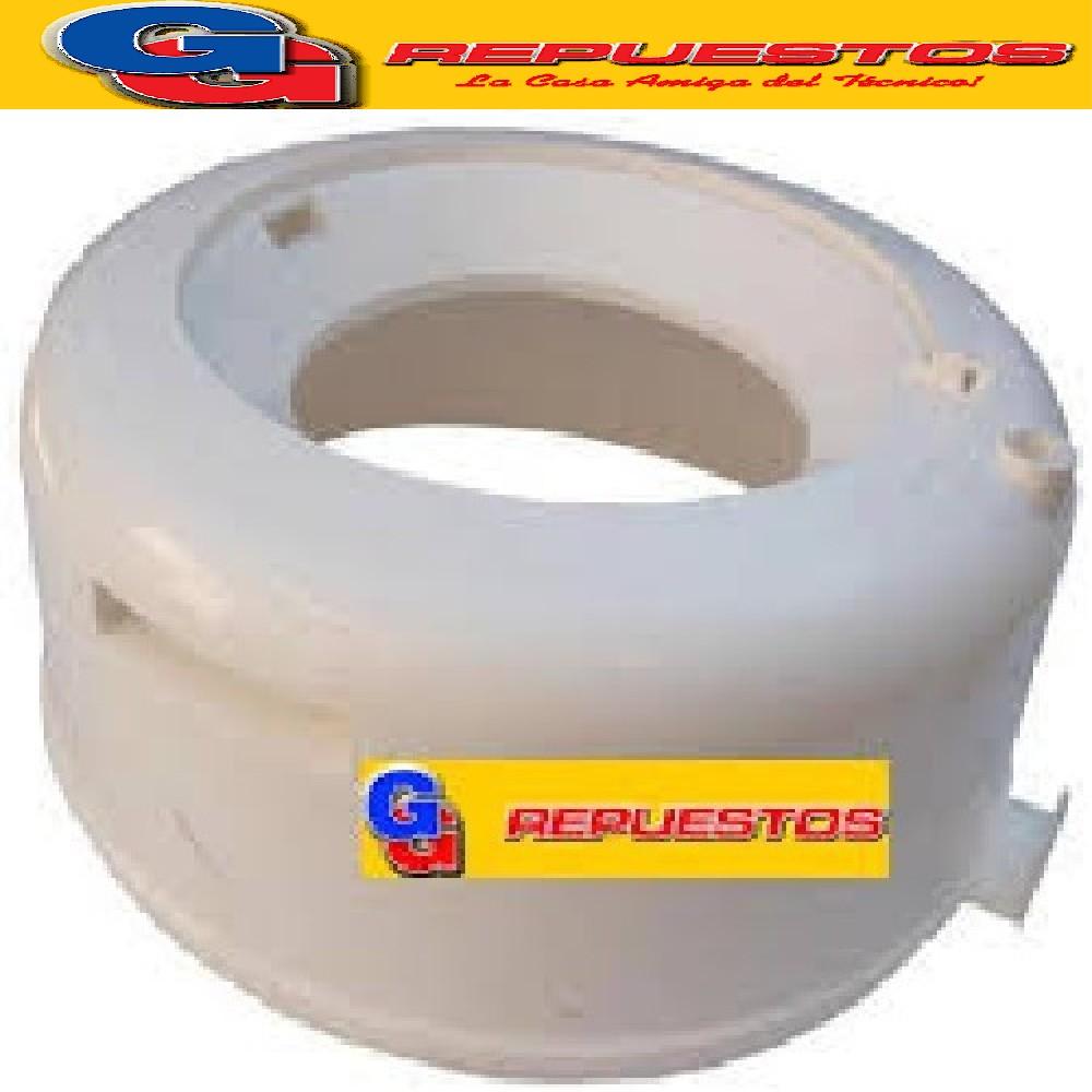 CABEZAL BLANCO BASE/GUIA TAPA CODINI PL42-PL52-PL62  (AROTAPA PLASTIACERO 4 2kg - 5 2kg -6 2kg ORIGINAL)