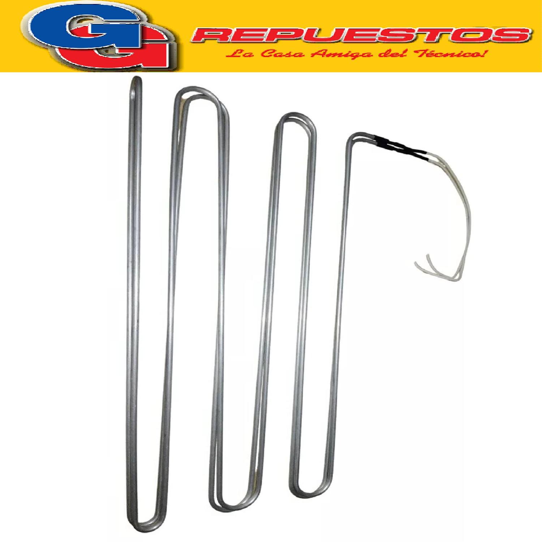 RESISTENCIA DE ALUMINIO DE HELADERA MABE GENERAL ELECTRIC NO FROST 450/G.E450/HGE450 NFBD01 B319 220V 256W / 222W MABE HMA 450 NF M01 PATRICK