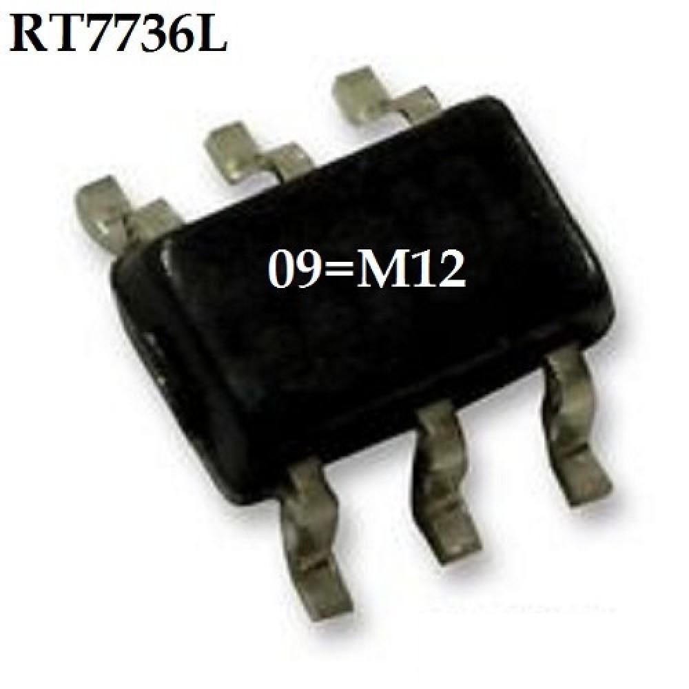 RT7736 CIRCUITO INTEGRADO SMD 09=M12 9V/300MA