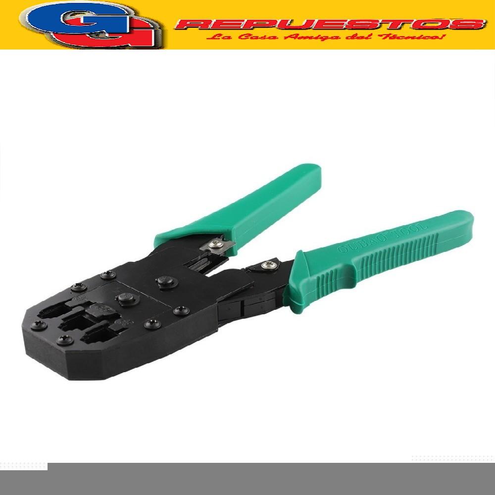PINZA CRIMPEADORA CUADRUPLE RJ45-12-11-9 UTP RED TEL. HY200