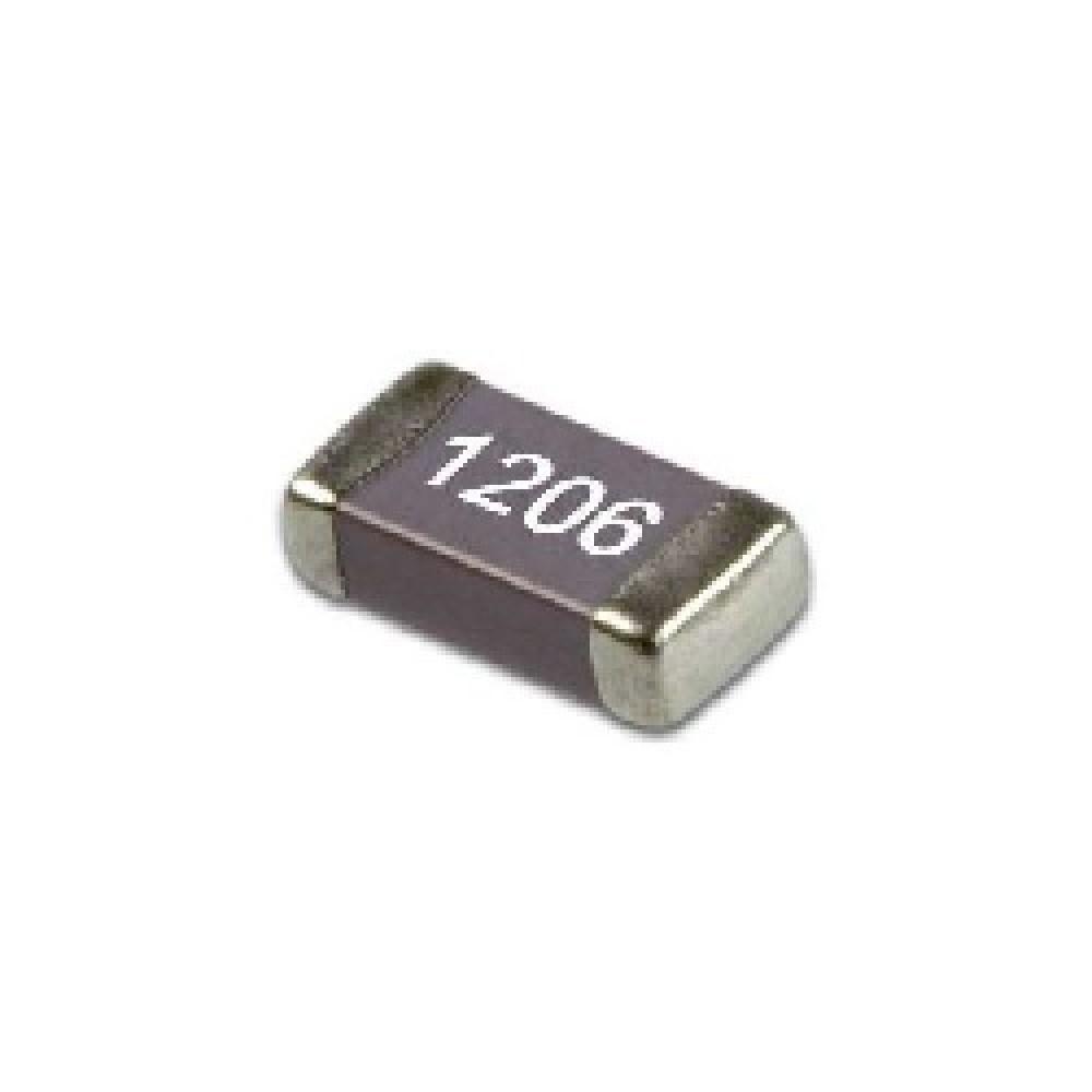 CAPACITOR CERAMICO SMD (1206)  0.1uFX50V X7R