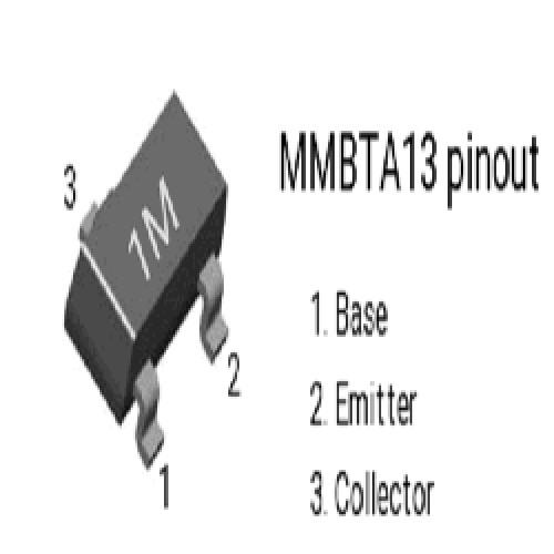MMBTA13 TRANSISTOR NPN DARLINGTON  0.5A  30V 625MW (SMD)