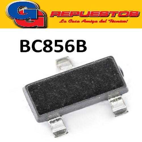 BC856B TRANSISTOR PNP BIPOLAR 100MA  65V 250MW (SOT-23) SMD