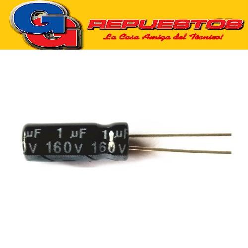 CAPACITOR ELECTROLITICO 1uFX160V RADIAL