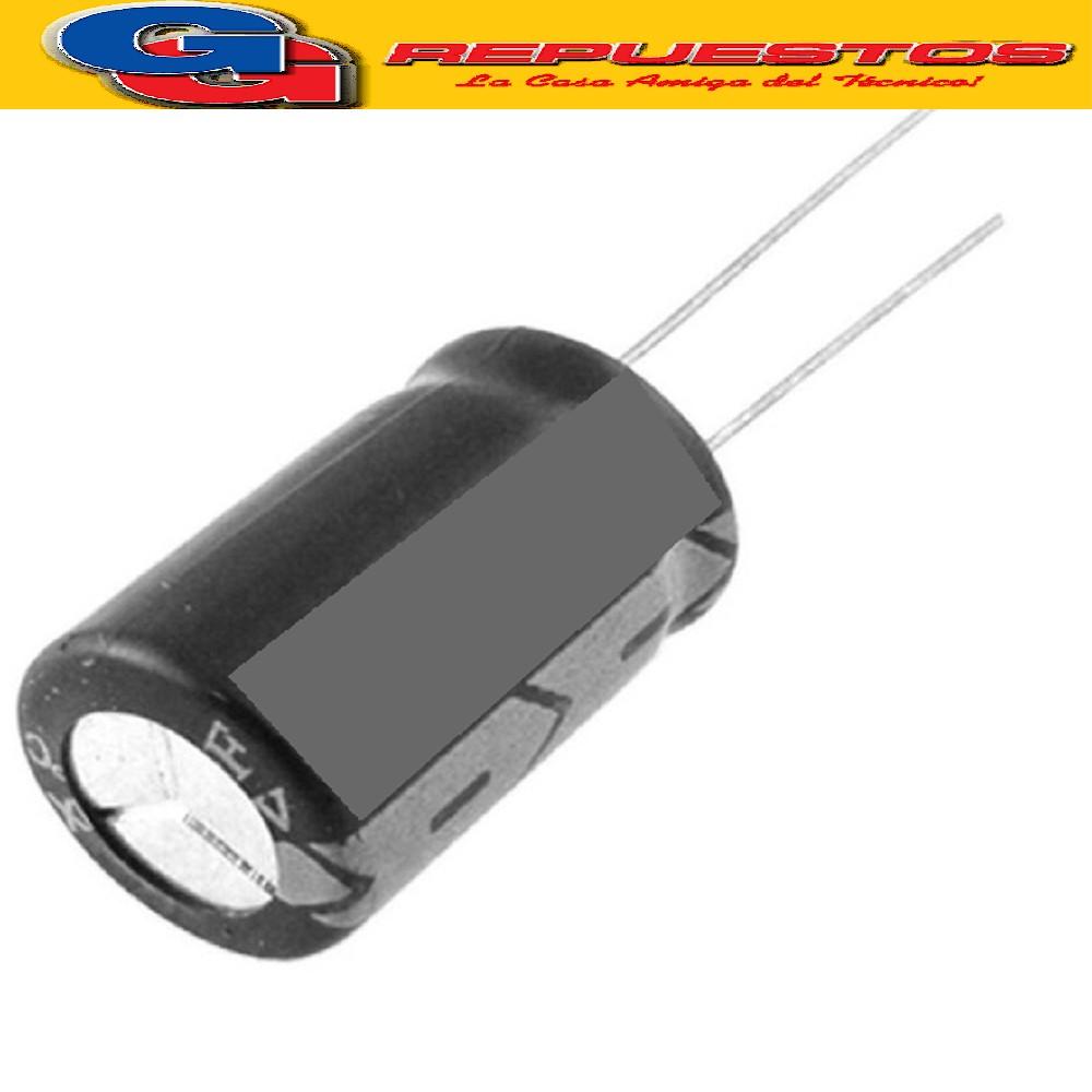 CAPACITOR ELECTROLITICO 10uFX160V RADIAL