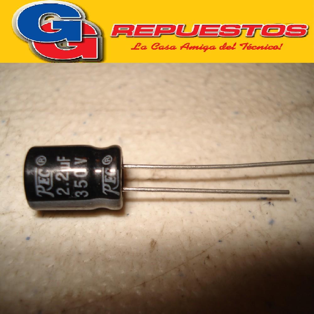 CAPACITOR ELECTROLITICO 2.2uFX350V RADIAL