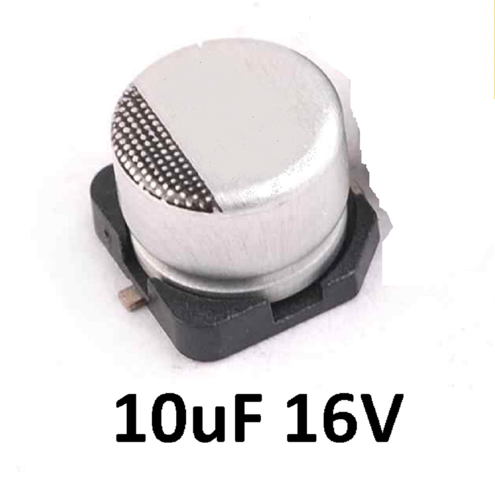 CAPACITOR ELECTROLITICO SMD 10uFX16V (4 x 5.4mm)