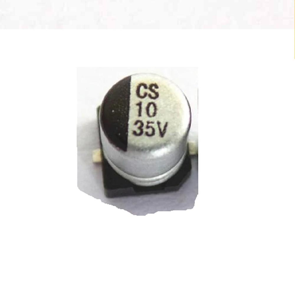 CAPACITOR ELECTROLITICO SMD 10uFX35V (5 x 5.4mm)