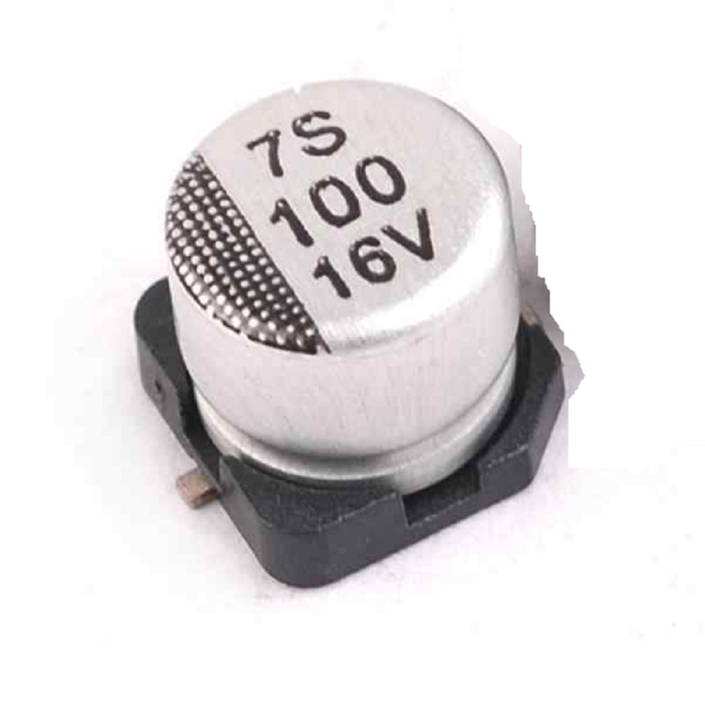 CAPACITOR ELECTROLITICO SMD 100uFX16V (6.3 x 5.4mm)