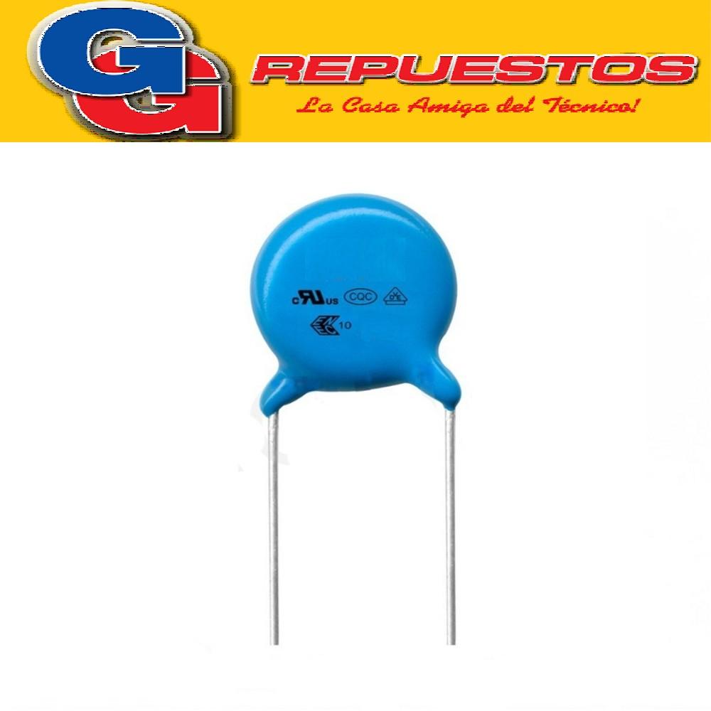 CAPACITOR CERAMICO DISCO 820PFX2000V Y5P 821