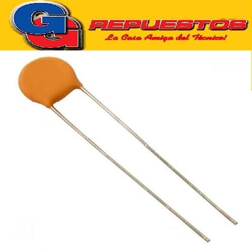 CAPACITOR CERAMICO DISCO 10NFX1000V Z5U (P=5mm) 103