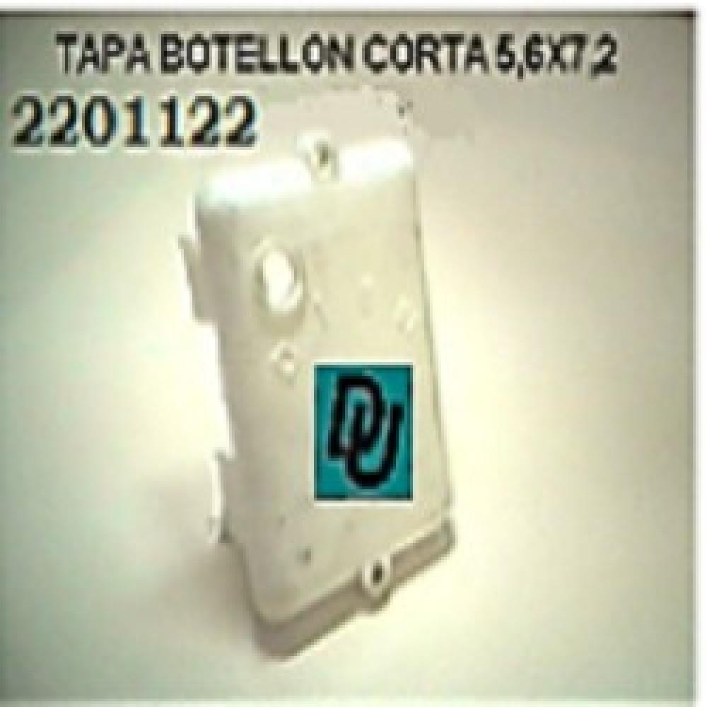 TAPA BOTELLON CORTA 5,6cmx7,2cm VENTILADOR