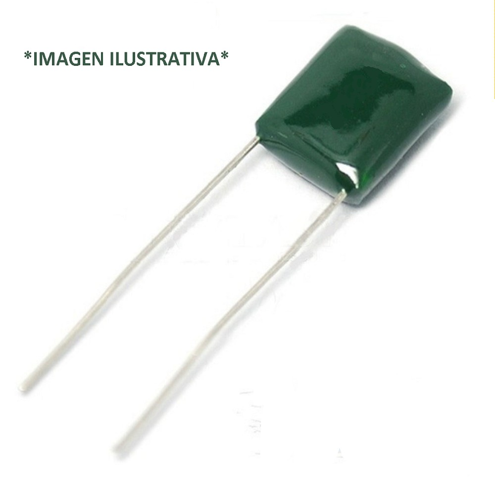 CAPACITOR POLIESTER MYLAR 15NFX100V P=4.5mm 2A153