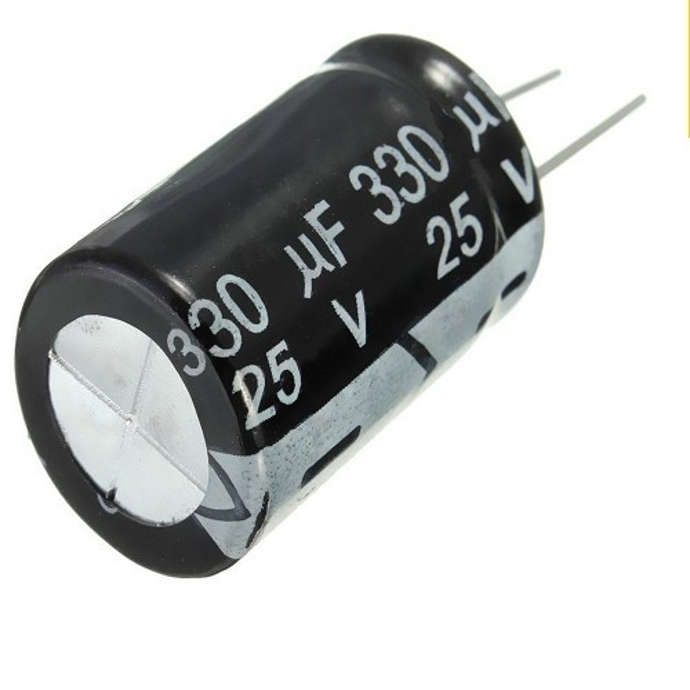 CAPACITOR ELECTROLITICO 330uFX25V RADIAL (8 x 14mm)