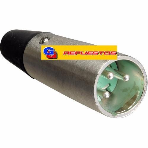 FICHA CONECTOR  CANON - XLR 3P P/CABLE MACHO