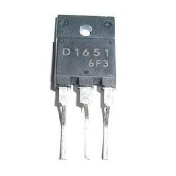 TRANSISTOR NPN 2SD1651 (1500V/5A/50W)