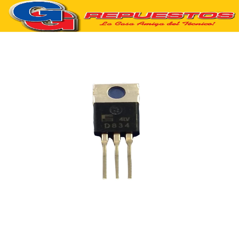 TRANSISTOR NPN 2SD834 (250V/4A/25W)