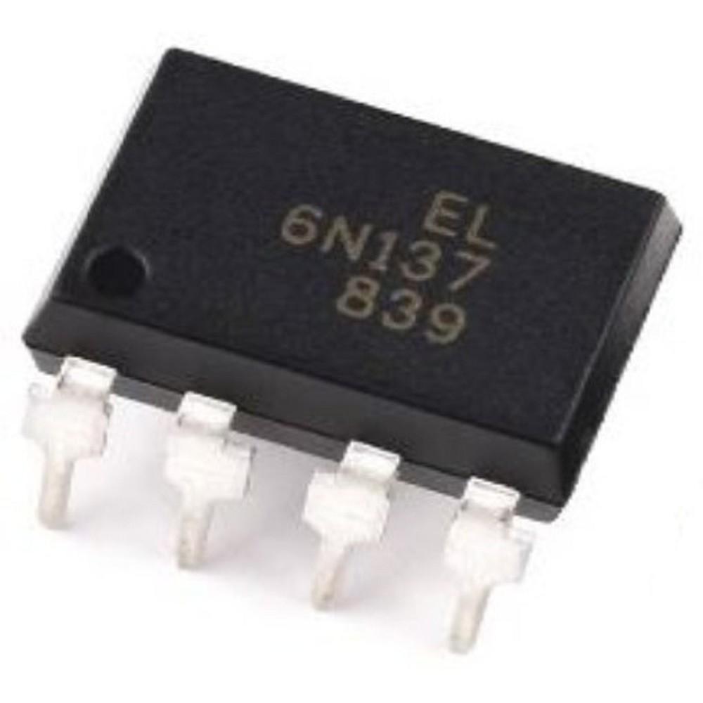6N137 OPTOACOPLADOR 5000V/50MA/100MW