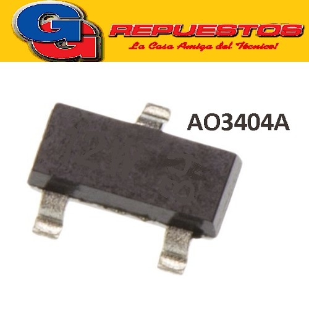 AO3404A SMD TRANSISTOR FET 30V 5.8A 1.4W
