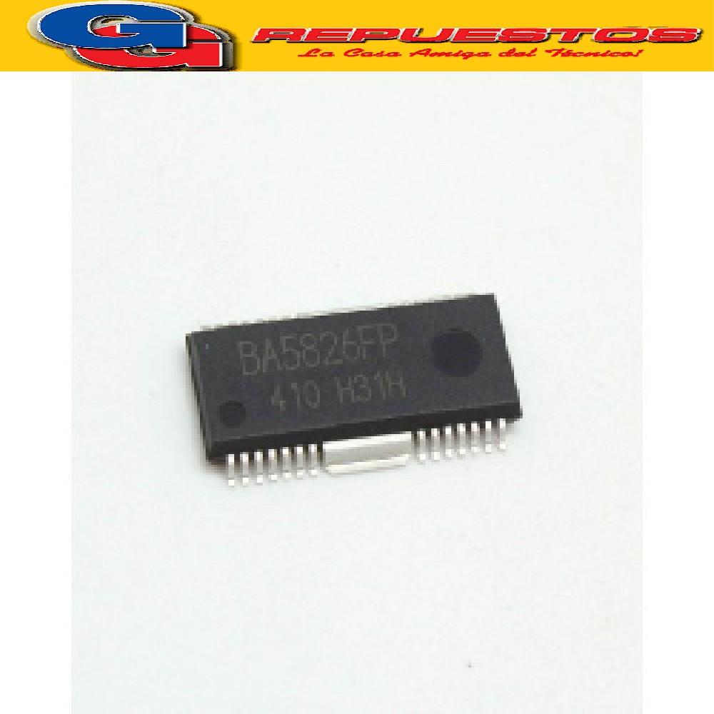 CIRCUITO INTEGRADO BA5826FP SMD   DE FUENTE DE REPR DE CD