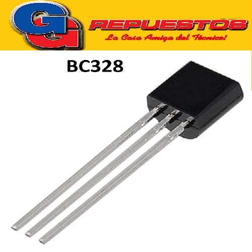BC328-25  TRANSISTOR PNP -25V/800mA hFE=160-400