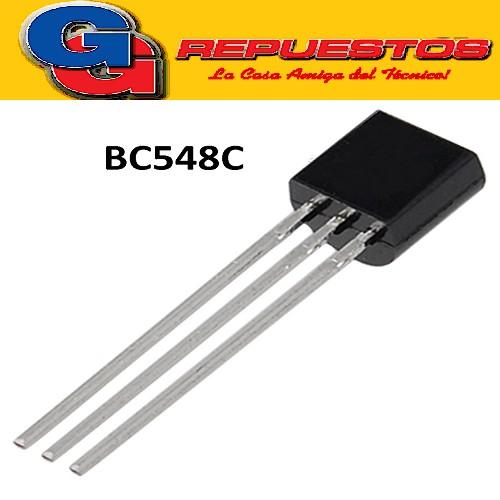 BC548C TRANSISTOR NPN 30V/100mA/625mW/hFE=270