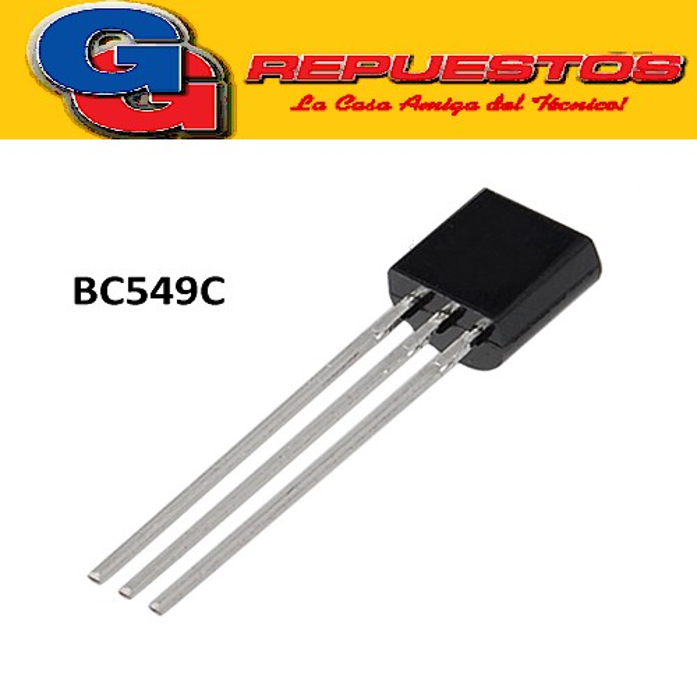 BC549C TRANSISTOR NPN 30V/100mA/625mW