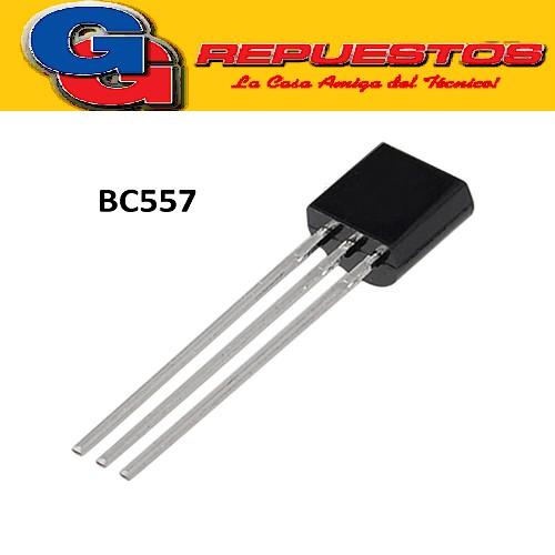 BC557 / 557B / 557C TRANSISTOR PNP -50V/-100mA/500mW/hFE=800max
