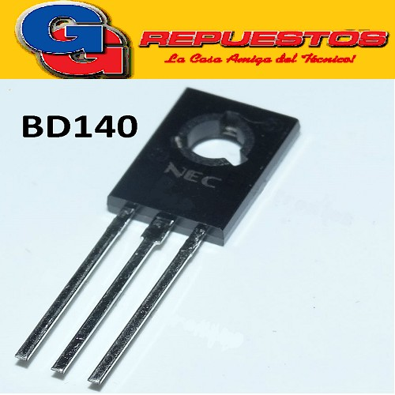 BD140 TRANSISTOR PNP -80V/1.5A/12W