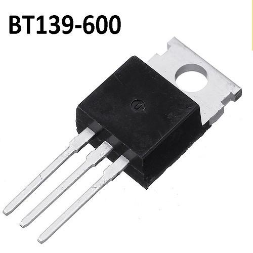 BT139-600 TRIAC 600V/16A/5W (IGUAL A BT139 600E/600G/600F)