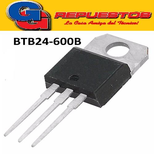 BTB24-600B TRIAC 600V/25A (IGUAL A BTA 24-600B)