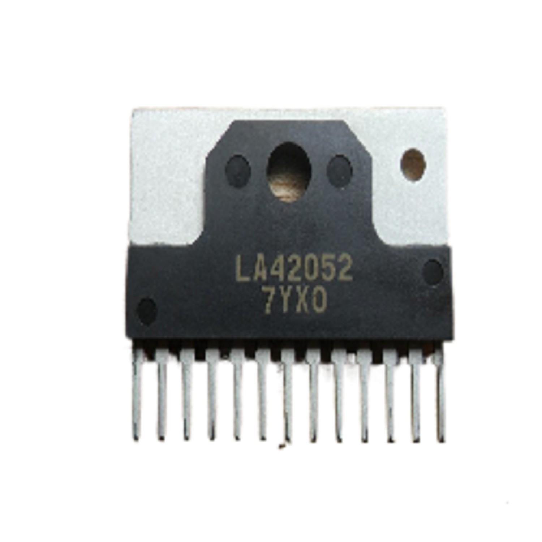 CIRCUITO INTEGRADO LA42052 AMPLIFICADOR DE POTENCIA 2 CANALES 5W C/CONTROL DE VOLUMEN