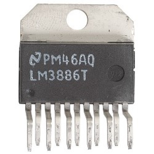CIRCUITO INTEGRADO LM3886T AMPLIFICADOR DE AUDIO DE POTENCIA 68W