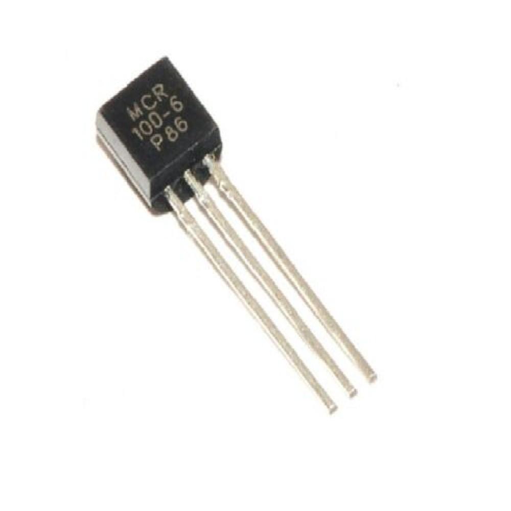 TIRISTORES MCR100-6 400V/0.8A