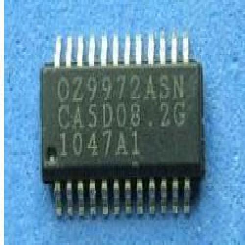 CIRCUITO INTEGRADO OZ9972A SMD  REGULADOR PWM DE ALTA EFICIENCIA PARA LCD DE GRAN TAMAÑO.