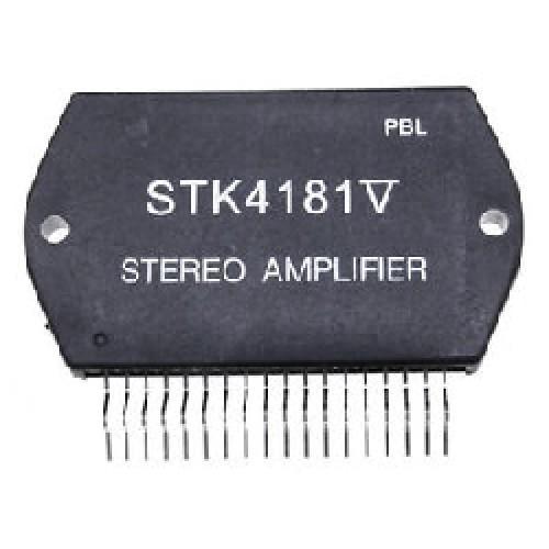 STK4181V CIRCUITO INTEGRADO AMPLIFICADOR STEREO 2X45W