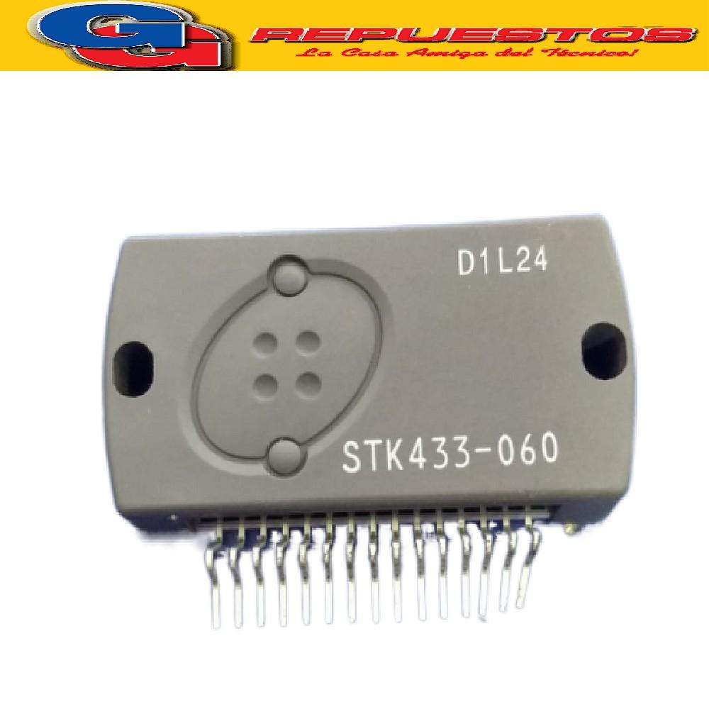STK433-060 CIRCUITO INTEGRADO AMPLIFICADOR DE AUDIO 2X50W / 46V