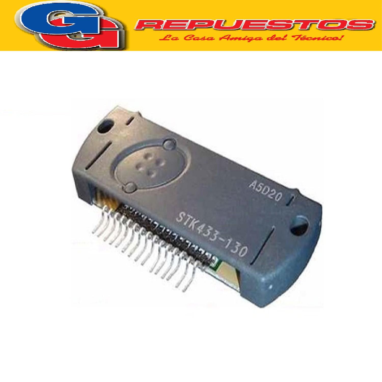 STK433-130 CIRCUITO INTEGRADO AMPLIFICADOR DE AUDIO 2X150W / 71.5V