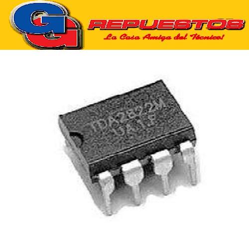 TDA2822M CIRCUITO INTEGRADO AMPLIFICADOR DE AUDIO 2X1W