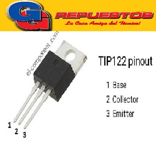 TIP122ST TRANSISTOR DARL NPN (100V5A/65W)
