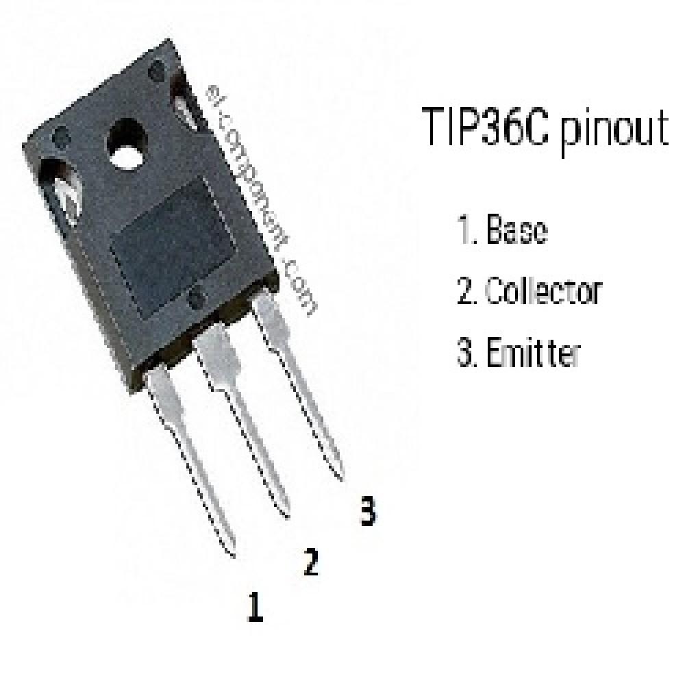 TIP36C TRANSISTOR PNP (100V/15A/125W)
