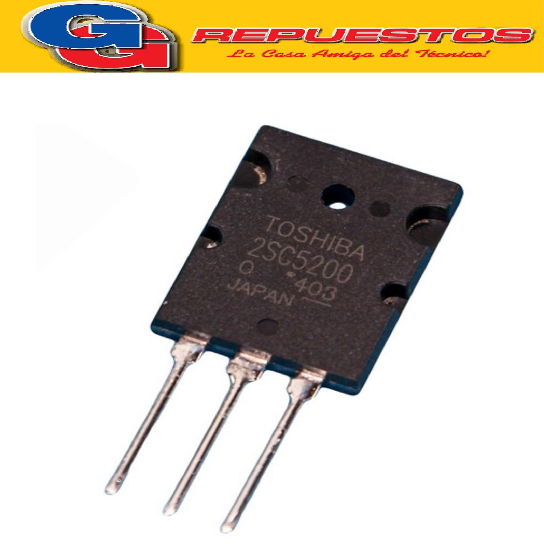 TRANSISTOR NPN 2SC5200 JAP (230V/15A/150W)