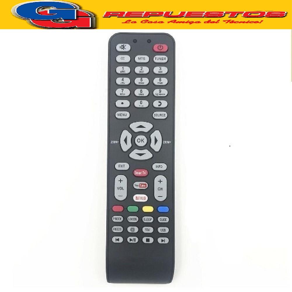 CONTROL REMOTO LED TCL SMART APP ILO 3D SMART =3860=3852 R6852