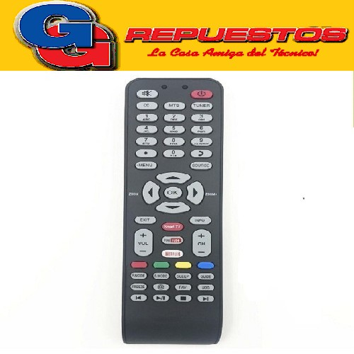 CONTROL REMOTO LED TCL SMART NOBLEX HITACHI ILO 3D SMART = 3852 R6860 RCA