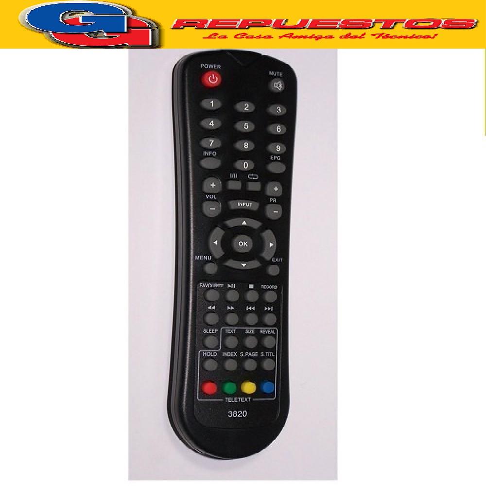 CONTROL REMOTO LED SUZUKI / TONOMAC / ADMIRAL 3820=3821 R6820